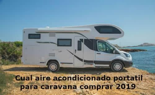 Aire acondicionado portatil para caravana