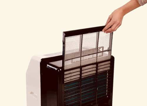filtro aire acondicionado portátil Comfee