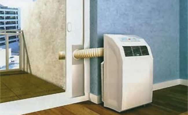 marco aislante de ventana aire acondicionado portátil